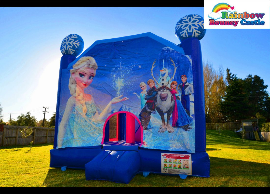 Rainbow Bouncy Castle - Hire Bouncy Castle For Celebration