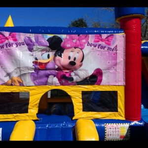 minnie&daisy bouncy castle auckland