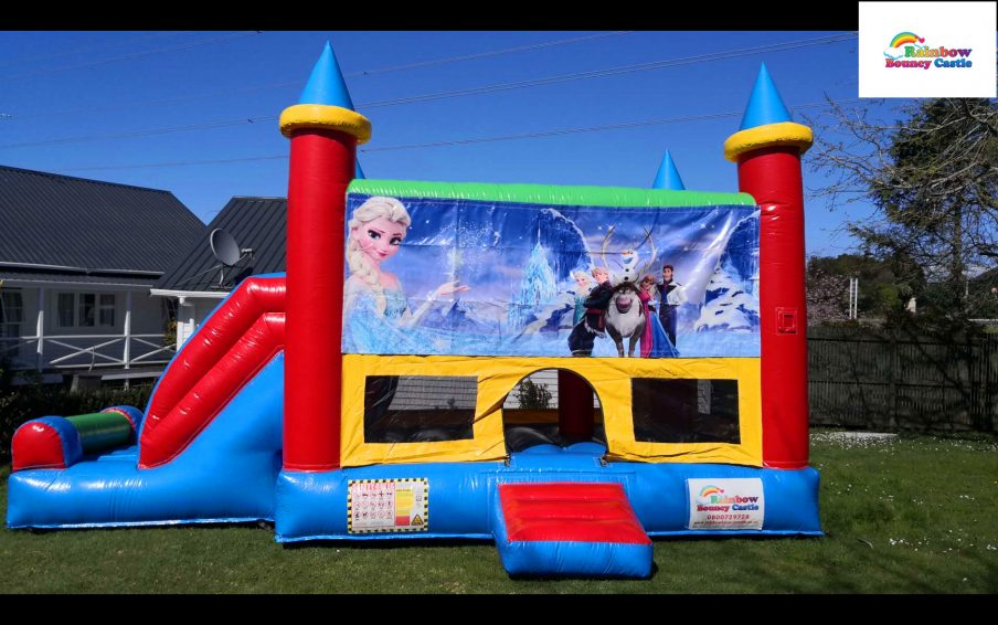 frozen bouncy castle in auckland